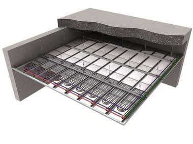Fußboden- und Wandheizungen