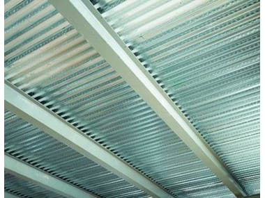 Steel-concrete loadbearing floor slab SOLAC® 55