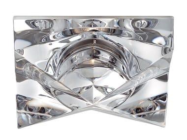 Spot encastrable en cristal pour faux-plafonds CINDY