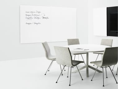 Wall-mounted office whiteboard VISION