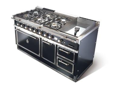 Cuisinière professionnelle en acier P70 | Cuisinière professionnelle