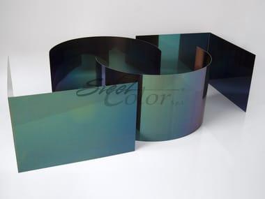 Tôle métallique Coloured steel sheet