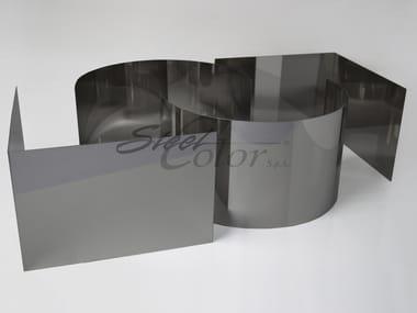 Chapa metálica Polished steel sheet