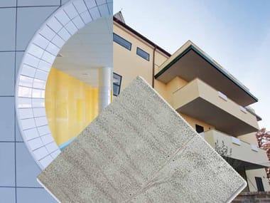 Soluzione a secco in cemento alleggerito AQUAROC