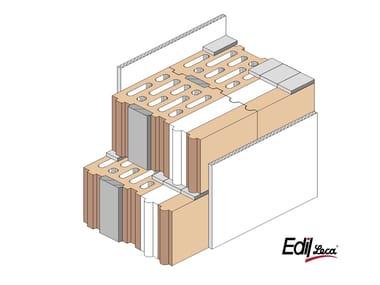 Thermal insulating masonry blocks