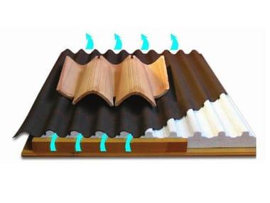 Sistema sottotegola ISONDULINA SISTEMA TETTO PORTA COPPI | Pannello termoisolante