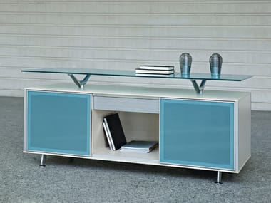 Low modular office storage unit BLOCK