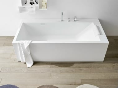 Rectangular Korakril™ bathtub UNICO | Rectangular bathtub
