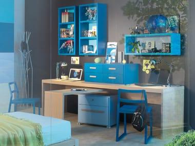 escritorio de madera para de nios escritorio
