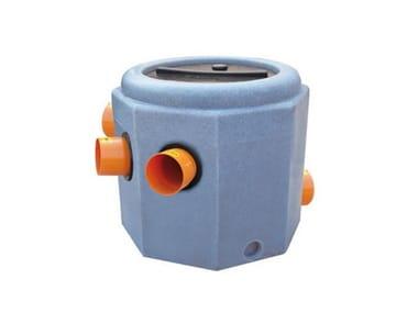 Componente per impianto di trattamento dei rifiuti liquidi Pozzetto di raccordo