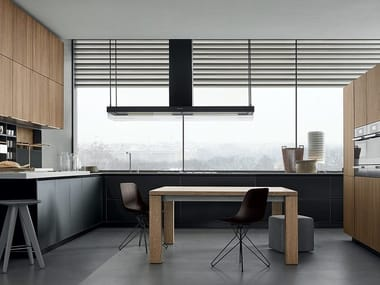 Lacquered wooden kitchen TWELVE