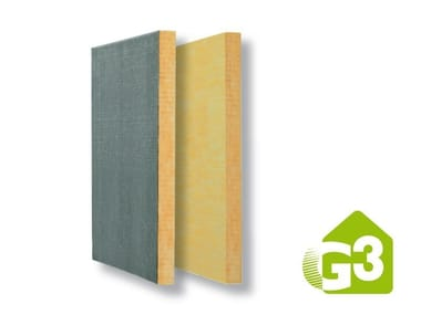 Glass wool Thermal insulation panel BAC CF ROOFINE® G3