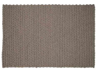 Rectangular wool rug TRENZAS   Rectangular rug