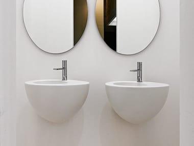 Wall-mounted ceramic washbasin LE GIARE   Wall-mounted washbasin