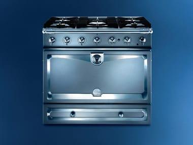 Cocina de acero inoxidable ALBERTINE