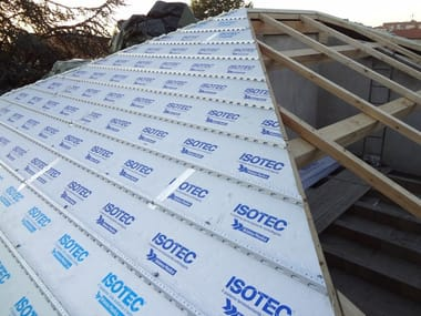 Polyurethane foam Ventilated roof system ISOTEC®