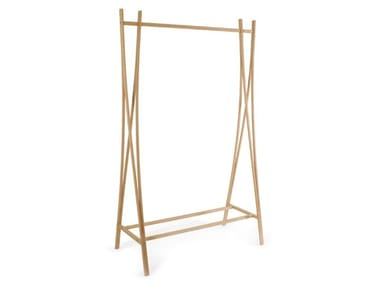 Beech coat rack TRA-RA