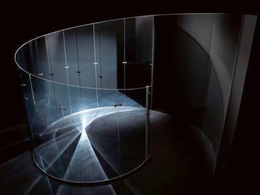 Mampara divisoria de cristal VERTIGO