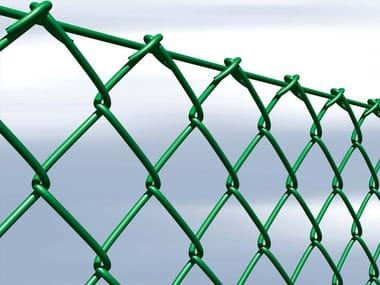 Plasticized wire mesh Fence REPLAX