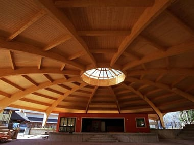 Timber roof structure and timber truss Timber roof structure and timber truss