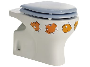Porcelain toilet for children BAGNOCUCCIOLO®-BIRDO | Toilet