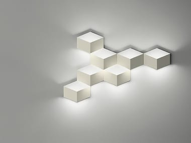 LED aluminium wall light FOLD SURFACE 4209