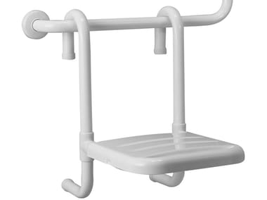 Asiento para ducha amovible de ABS BAGNOSICURO®-TUBOCOLOR   Asiento para ducha de ABS