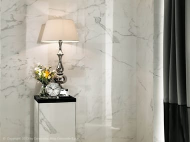 White-paste wall tiles with marble effect MARVEL WALL | White-paste wall tiles