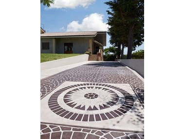 Outdoor floor tiles STENCILTOP