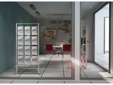 Expositor modular de suelo INUNO | Expositor