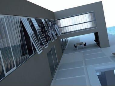 Translucent Plastic Laminate Wall Panels Facade Cladding