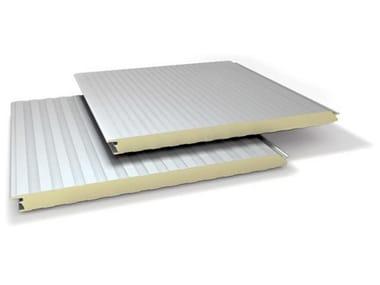Panneau métallique isolé pour façade SUPER TOP PIANO