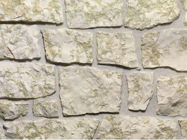 Rivestimento di facciata in pietra naturale BIANCO VERDE | Rivestimento in pietra naturale