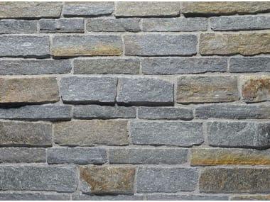 de fachada de piedra natural luserna reale de pared de piedra natural