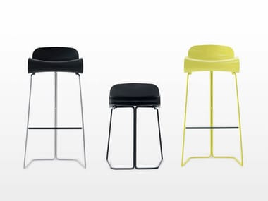 Synthetic material stool BCN | Stool