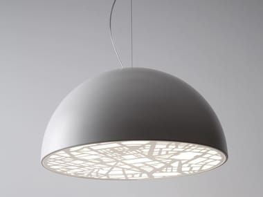 Metal pendant lamp CITY