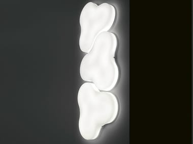 Methacrylate wall lamp TRIFOGLIO | Wall lamp
