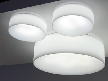 Fluorescent ceiling lamp HOLE - LIGHT | Fluorescent ceiling lamp
