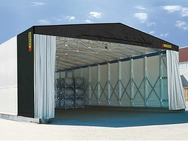 Steel building system FREESTANDING FIXED OR RETRACTABLE