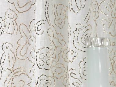Printed linen fabric CABOCHON