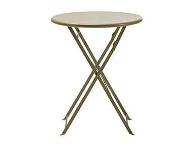 Folding garden table FLOWER | Round table