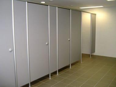 parete divisoria per bagni in hpl vk13