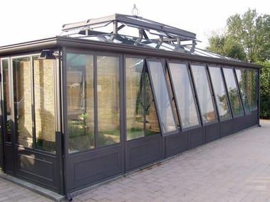 Jardín de invierno de hierro y vidrio IRON CONSERVATORY