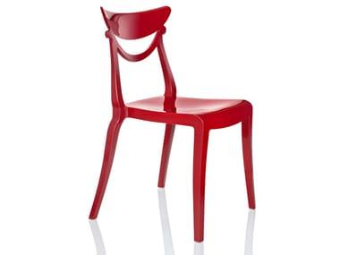 Stackable restaurant chair MARLENE | Restaurant chair