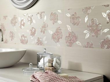 Indoor white-paste wall tiles ROMANTIQUE