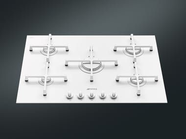 Gas glass ceramic hob PV175CB | Hob