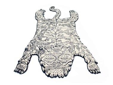 Tappeto fatto a mano in lana TIGER