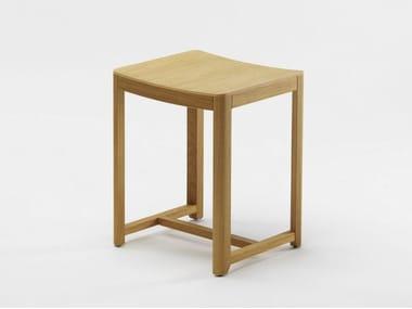 Wooden stool SELERI | Low stool