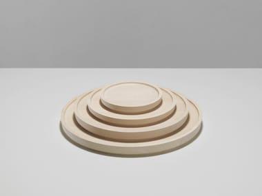 Wooden tray MARU