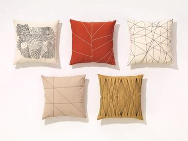 Square fabric cushion Cushion